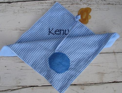 Cuddly Pacifier Cloth