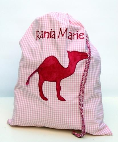 Laundry Pouch Pink Camel