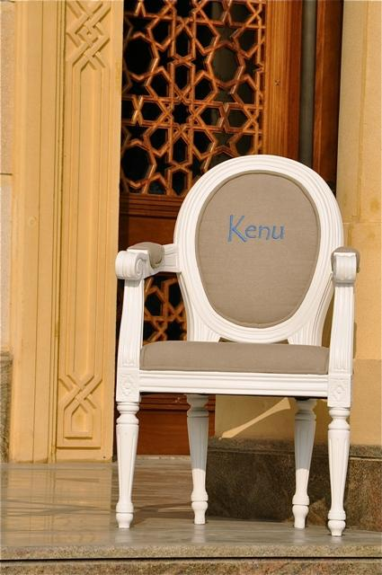 PERSONALISED Louis XIV Children�s Chair Brown