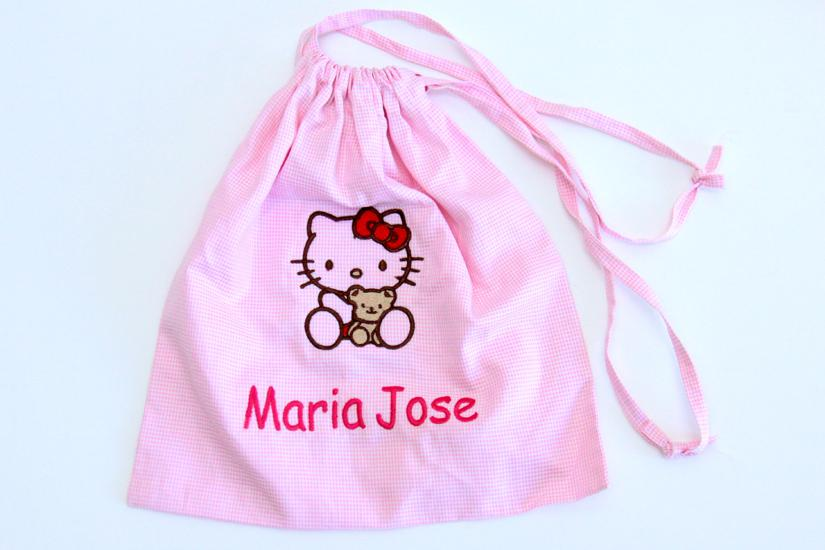 Personalised party favour bags Hello Kitty