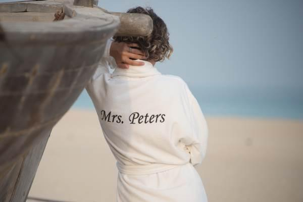 Personalised Bathrobe Women
