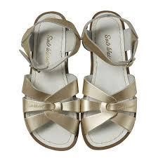 Adult Salt Water Sandal Women-Gold