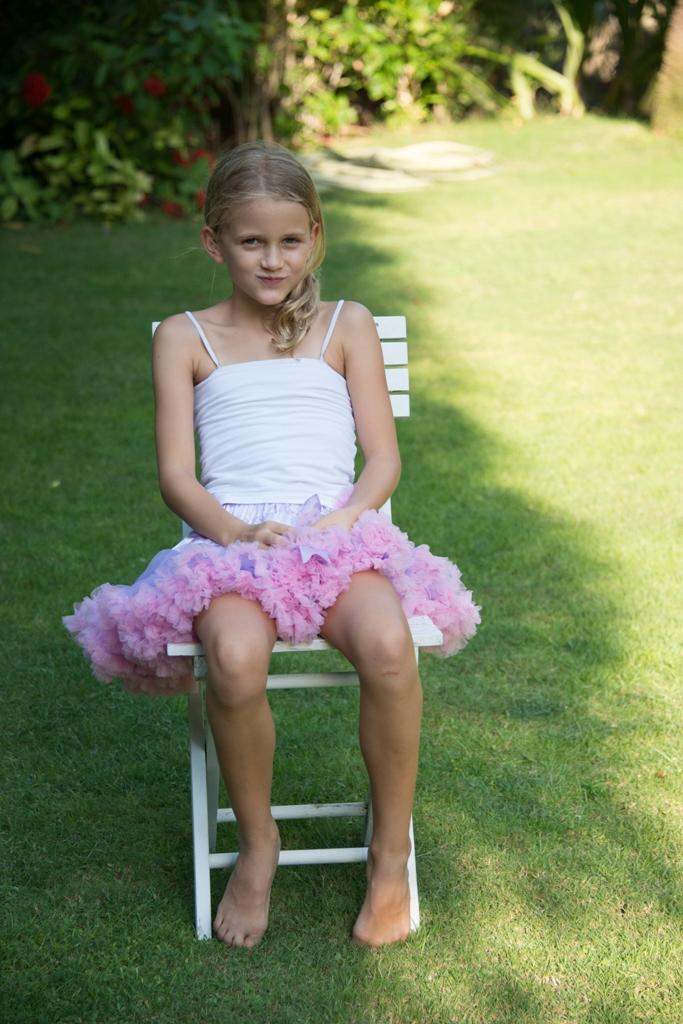 Coochy Coo Tutu- Lilac skirt with pink lining