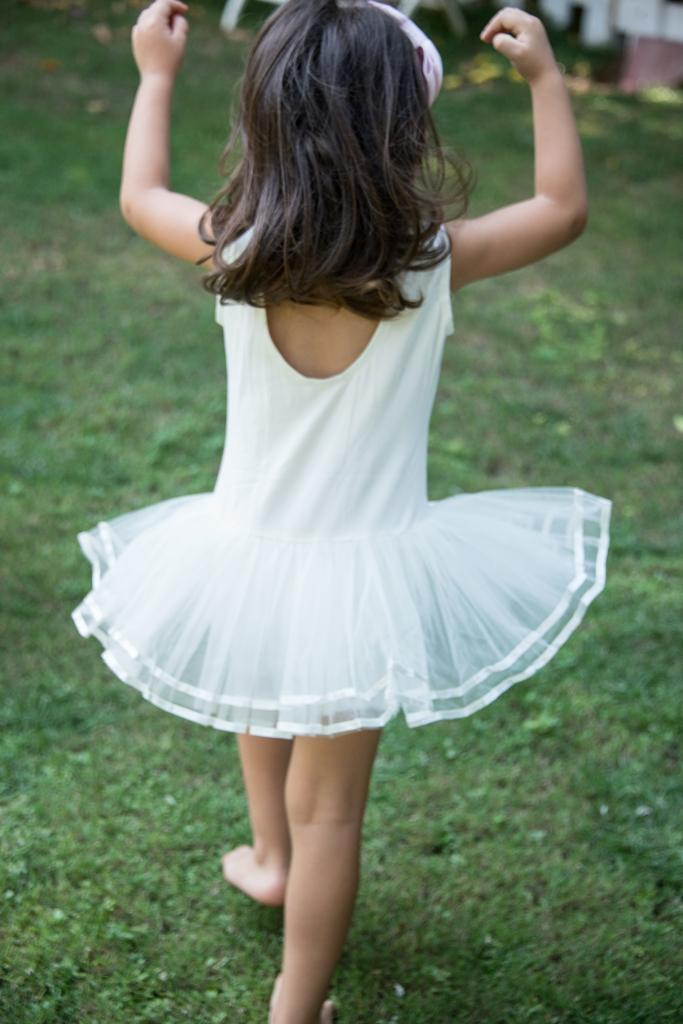 Coochy Coo Tutu Dress- Pure white