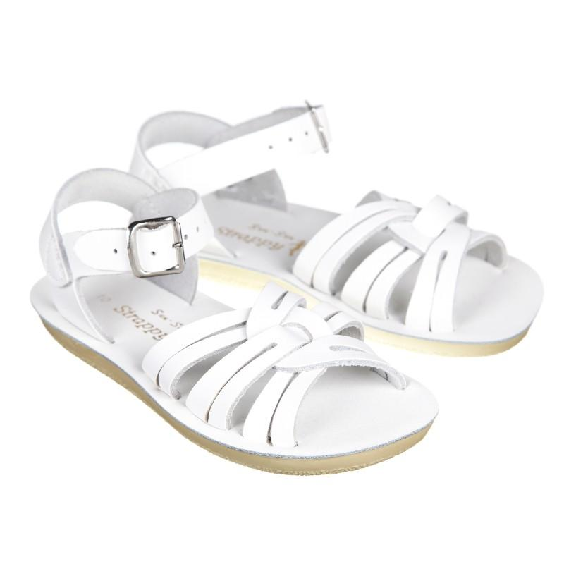 Kids Strappy- White